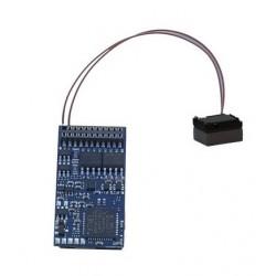 ESU 58419. Decóder de sonido Loksound 21 pins, 5.0 multiprotocolo.