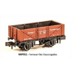 PECO NRP951. N Vagón FERROCARRILES VASCONGADOS.