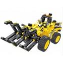 QIHUI 6804. 2 en 1 Maquinaria madera y Buggy 301pcs.