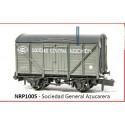 PECO NRP1005. N Vagón Sociedad General Azucarera