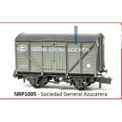PECO NRP 1005. N Vagón Sociedad General Azucarera
