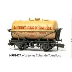 PECO NRP967A. N Vagón Cisterna CUBAS DE TOMELLOSO.