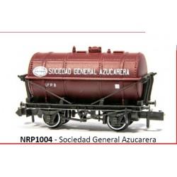 PECO NRP1004. N Vagón Cisterna SOCIEDAD GENERAL AZUCARERA.