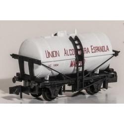 PECO NRP957. N Vagón Cisterna UNION ALCOHOLERA ESPAÑOLA