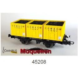 OMNIBUS 45208. H0 Vagón COMAC MAQUETREN 2018