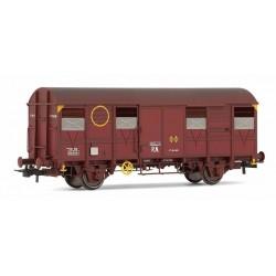 ELECTROTREN 19044. H0 Vagón Cerrado ORE, rojo óxido.