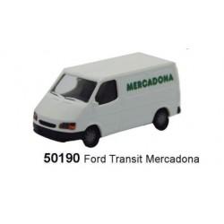 RIETZE 50190. H0 Furgoneta FORD TRANSIT MERCADONA.