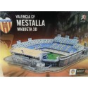 DISPERSA 075615/OL. Puzzle 3D ANTIGUO ESTADIO MESTALLA