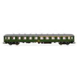 ELECTROTREN 18037. H0 Coche 8000 Renfe 1ª/2ª clase , verde.