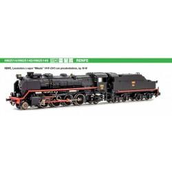 ARNOLD 2514S. N Locomotora de vapor MIKADO Renfe 141F 2315. SONIDO.