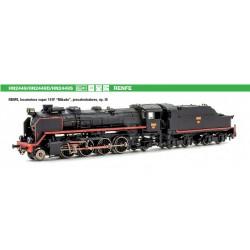 ARNOLD 2449S. N Locomotora de Vapor MIKADO Renfe141F-2332. SONIDO.