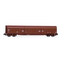 ARNOLD 6486. N Vagón de paredes corredizas JJ2, marrón RENFE.