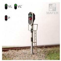 MAFEN 413104. N Semáforo 2 aspectos verde/rojo