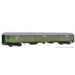 ELECTROTREN HE4002. H0 Furgón RENFE, D11-11400, verde, época IV