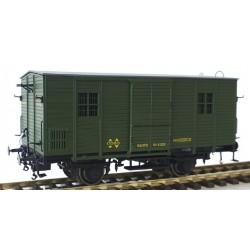 MABAR 81333. H0 Furgón DV61220 RENFE verde.