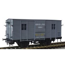 MABAR 81336. H0 Furgón DV61226 RENFE Tren Obrero.