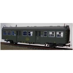 KTRAIN 0601-M. H0 Coche de Viajeros Renfe, B-7007, 2ª Clase