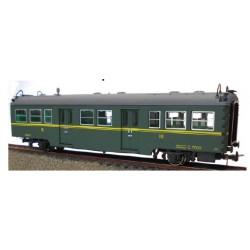 KTRAIN 0602-O. H0 Coche de viajeros Renfe, C-7009, 3ª clase