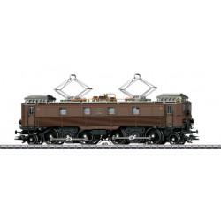 """MARKLIN 39510. H0 Locomotora eléctrica Be 4/6 """"Stängelilok"""" de los Ferrocarriles Federales Suizos (SBB)."""