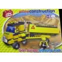 PLAYSTONE CY2203. Kit de construccion infantil GRAN DUMPER