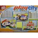 PLAYSTONE CY2116. Kit de construcción infantil RESTAURANTE PIZZERIA