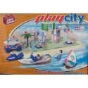 PLAYSTONE CY2128. Kit de construcción infantil CHIRINGUITO PLAYA.