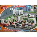 PLAYSTONE CY5600. Kit de construcción infantil CENTRO DE EMERGENCIAS.