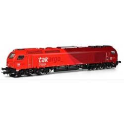 SUDEXPRESS 600519. H0 Locomotora Euro 4000 TAKARGO 6005.