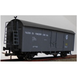 KTRAIN 0718-A. H0 Vagón Frigorífico PN-17189 gris.