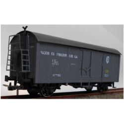 KTRAIN 0718-C. H0 Vagón frigorífico PN-17196, gris.