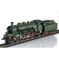 MARKLIN 39436. H0 Locomotora de Vapor S3/6 de los Ferrocarriles Bávaros. Alterna con Sonido.